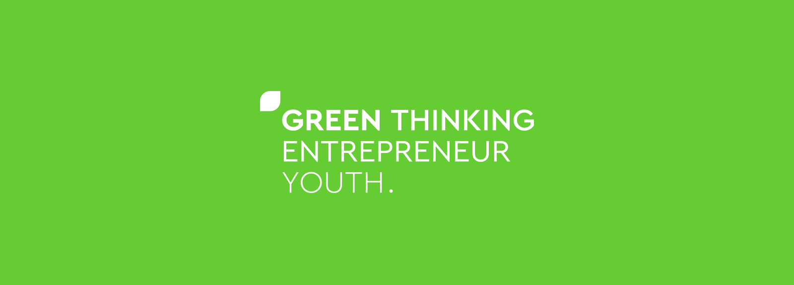 Green Thinking Entrepreneur Youth